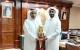 Al Ali Presents The Amir Cup To His Highness Sheikh Abdullah Bin Nasser