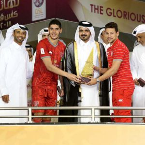 The Coronation Of Al Duhail With Qata Cup 2018