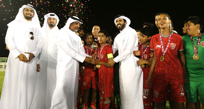 Lekhwiya U 14 Yrs Team Won The Cup