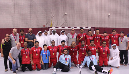 Al Duhail Handball U 17 Yrs Team Champions Of The Cup