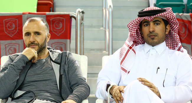 Belmadi Attended Al Duhail Buds Coronation Ceremony